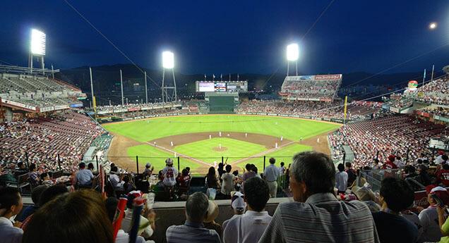 日本プロ野球巨人対阪神