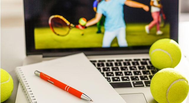テニスでのブックメーカーの賭け方と稼ぎ方